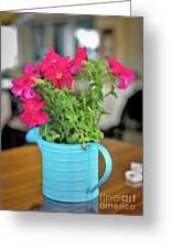Flower Decoration Greeting Card