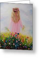 Flower Dream Greeting Card