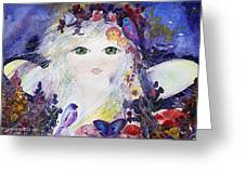 Flower Fairy Greeting Card