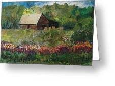 Flower Farm Greeting Card