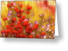 Flower Fields Of Summer Greeting Card