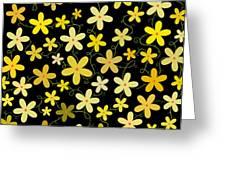 Flower Folly Greeting Card