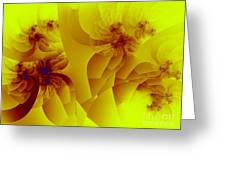 Flower Formations Greeting Card