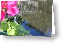 Flower Frame Greeting Card