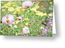 Flower Garden Bouquet Greeting Card