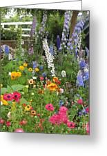 Garden Delight Greeting Card