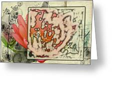 Flower-h Greeting Card