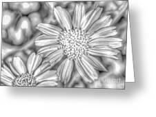Flower-i Greeting Card
