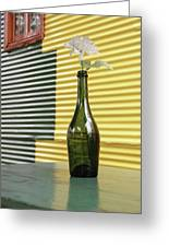 Flower In A Bottle Greeting Card