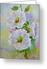Flower In Summer. Greeting Card