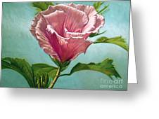 Flower In The Sky Greeting Card