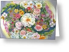 Flower Mandala #1 Greeting Card