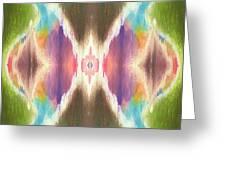 Flower Mandala Greeting Card