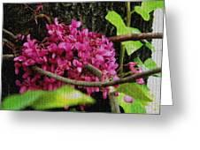 Flower Mosaic Greeting Card