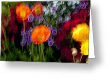 Flower Motion Greeting Card