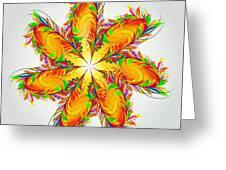 Flower Of Joy Greeting Card