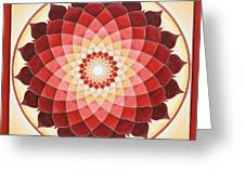 Flower Of Life Greeting Card