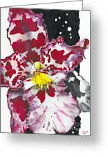 Flower Orchid 11 Elena Yakubovich Greeting Card