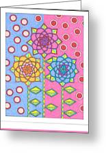 Flower Power 2 Greeting Card