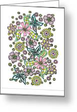 Flower Power 5 Greeting Card