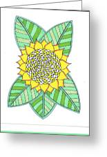Flower Power 6 Greeting Card