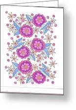 Flower Power 9 Greeting Card