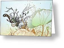 Flower Sol Greeting Card