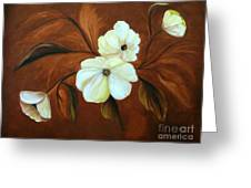 Flower Study Greeting Card