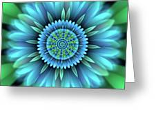 Flower Translucent 18 Greeting Card