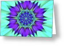 Flower Translucent 19 Greeting Card