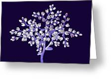 Flower Tree Greeting Card