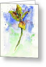 Flower Two Greeting Card