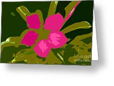 Flower Work Number 17 Greeting Card