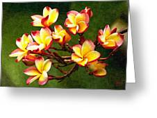 Flowerage Greeting Card
