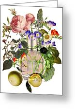 Flowerbomb Notes - By Diana Van Greeting Card