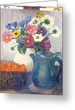 Flowered Love Greeting Card