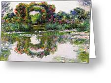 Flowering Arches, Giverny Greeting Card