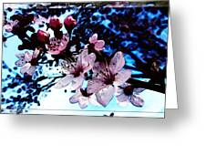Flowering Of The Plum Tree 7 Greeting Card