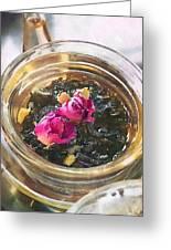 Flowering Tea  Greeting Card