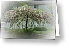 Flowering Tree By Earl's Photography Greeting Card
