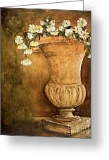 Flowering Urn Greeting Card