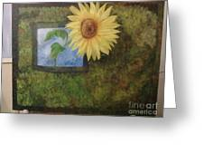 Flowerpower Greeting Card