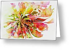 Flowers 005 Greeting Card