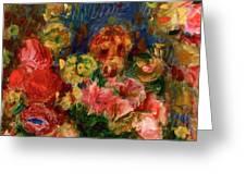 Flowers 1902 Greeting Card