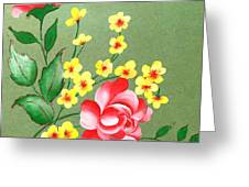 Flowers - 2 Greeting Card