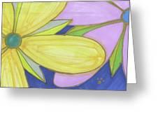 Flowers-5 Greeting Card