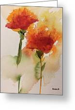 Dance In The Wind Greeting Card