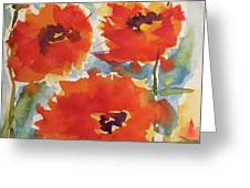 Poppies Wanted Greeting Card