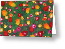 Flowers Afloat Greeting Card