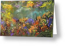Flowers And Grasses IIi Greeting Card